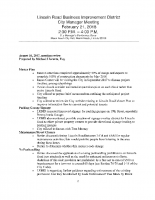 2-21-18 Meeting with City Manager Minutes