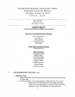 January 22, 2019, 1-14-19 Ex. Committee Minutes with Map sm